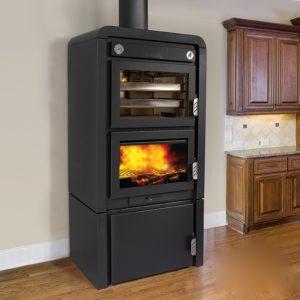 Houttoestel vrijstaand met oven OJE.1
