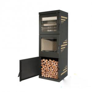 Houttoestel vrijstaand met oven MON.1